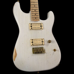 Charvel Custom Shop Nitro Aged San Dimas White Blonde 2016