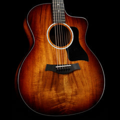 Taylor 224ce-K DLX Koa Grand Auditorium Acoustic Shaded Edgeburst