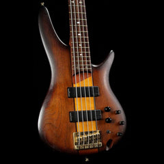 Ibanez SR755 5-String Bass Brown Sunburst 2010