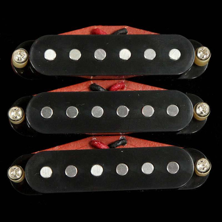 Bare Knuckle Boot Camp Brute Force Strat Pickup Set Black STRSBF-BLK