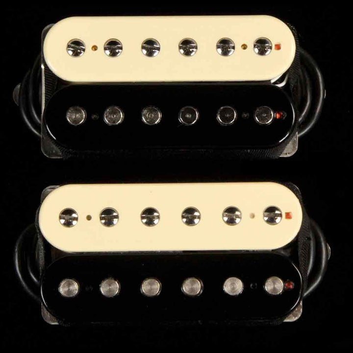 Bare Knuckle Boot Camp True Grit Humbucker Set 53mm Zebra HUM6STG-OZEB53