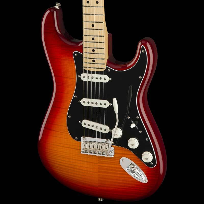 Fender Player Series Stratocaster Plus Top Aged Cherry Burst