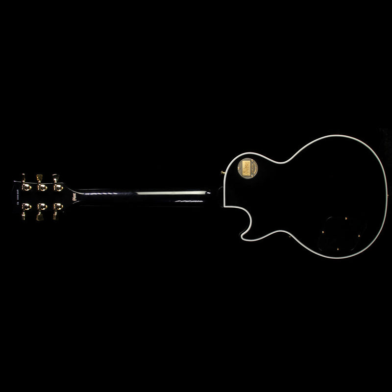 Used 2016 Gibson Custom Shop Les Paul Custom Electric Guitar Ebony CS600286