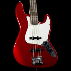Squier Contemporary Jazz Bass Dark Metallic Red