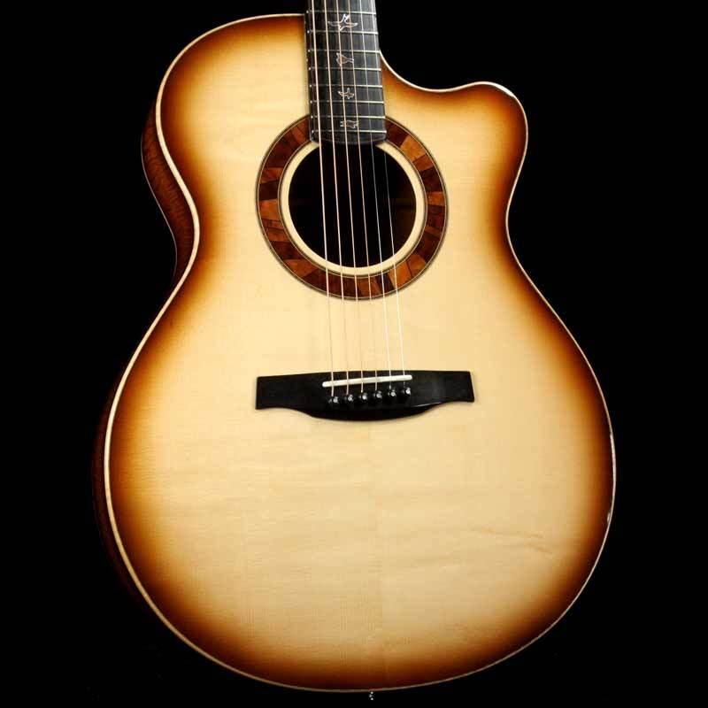 PRS Angelus Cutaway Private Stock Acoustic Natural Smoked Burst 5523