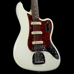 Fender Custom Shop Bass VI Journeyman Relic Aged Olympic White