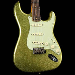 Fender Custom Shop 1963 Stratocaster Chartreuse Sparkle Journeyman Relic 2017