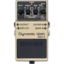 Boss AW-3 Dynamic Wah Effect Pedal