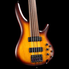 Ibanez SRF705BBF 5-String Fretless Bass Brown Burst Flat 2017