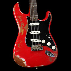 Fender Custom Shop '60s Roasted Mahogany Stratocaster Dakota Red Heavy Relic