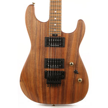 Charvel Custom Shop San Dimas Koa HH Natural Series Oil Finish