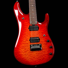 Ernie Ball Music Man BFR JP6 Baritone Cherry Burst 2015