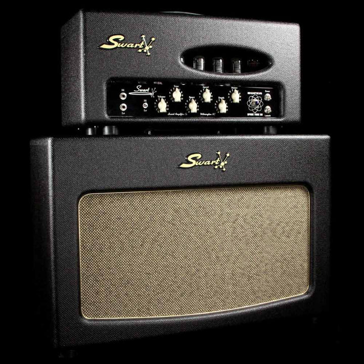 Used Swart Super Space Tone 30 Head & 2x12 Cabinet Dark Tweed 23
