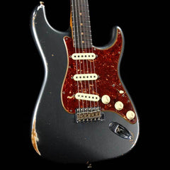 Fender Custom Shop Roasted 1960 Stratocaster Charcoal Frost Metallic 2018 NAMM LTD