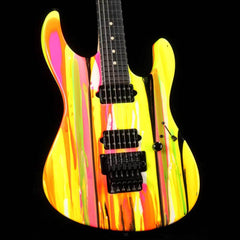 Suhr '80s Shred MKII Neon Drip 2016