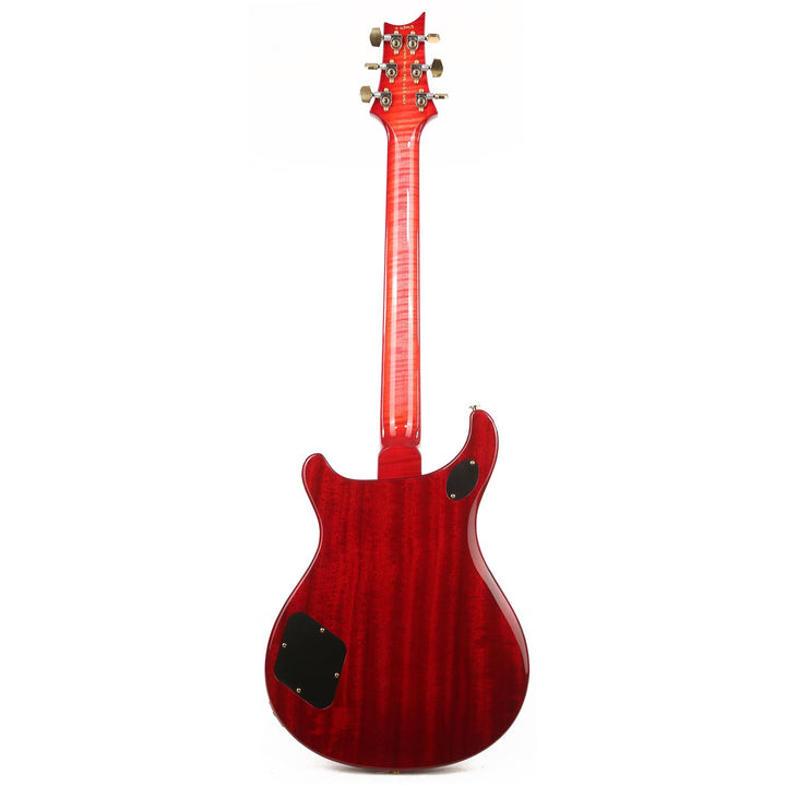 PRS McCarty 594 Wood Library Artist Grade Flame Maple and Brazilian Rosewood Fretboard Bonnie Pink Cherry Burst 0284958