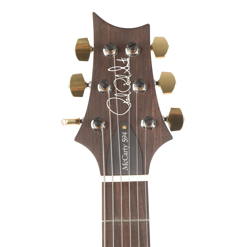 PRS McCarty 594 Wood Library 10-Top Quilt Maple and Brazilian Rosewood Fretboard River Blue 0287118