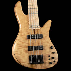Fodera Emperor Standard Special 5-String Bass Flame Myrtle Natural