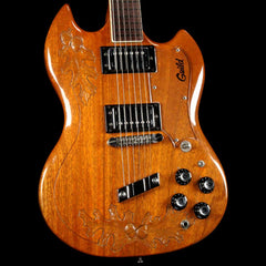 Guild S-100 Natural Carved Acorn 1974