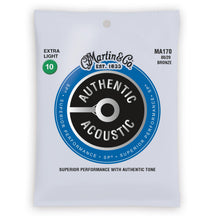 Martin Authentic Acoustic SP 80/20 Bronze Acoustic Strings (Extra Light 10-47)