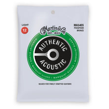 Martin Authentic Acoustic Marquis Silked Phosphor Bronze Acoustic Strings (Light 12-54)