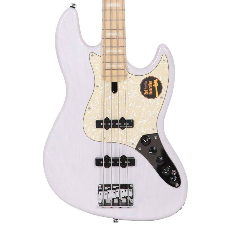 Sire Guitars Marcus Miller V7 Swamp Ash 4-String Bass 2nd Generation White Blonde