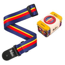 Planet Waves Yellow Submarine 50th Anniversary Guitar Strap with Tin - John