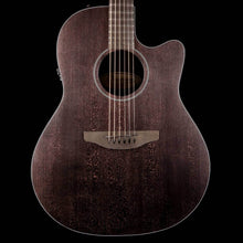 Ovation American SX Main Stage Deep Contour Acoustic-Electric Translucent Ebony