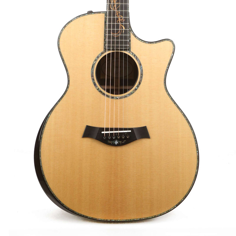 Taylor Custom Shop Grand Auditorium Milagro Brazilian Rosewood Acoustic-Electric Roadshow Exclusive 1105258005