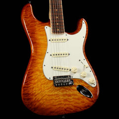 Fender Select Stratocaster Quilt Maple Iced Tea Burst 2013