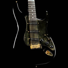 Fender Custom Shop Aluminum Stratocaster Black and Gold 1995
