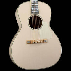 Bourgeois L-DBO Whyte Rabbit Acoustic-Electric Transparent White