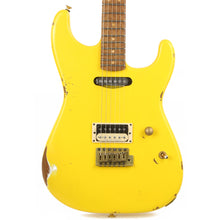 Charvel Custom Shop San Dimas HS Nitro Aged Roasted Alder Graffiti Yellow
