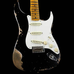 Fender Custom Shop 1958 Stratocaster Heavy Relic Black 2018