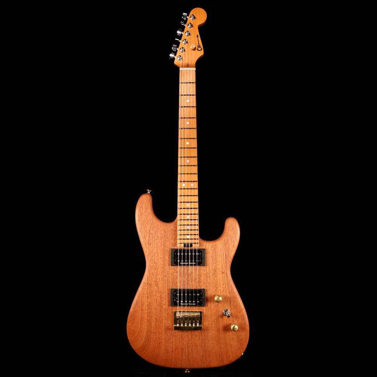 Charvel Custom Shop San Dimas Roasted Mahogany Natural