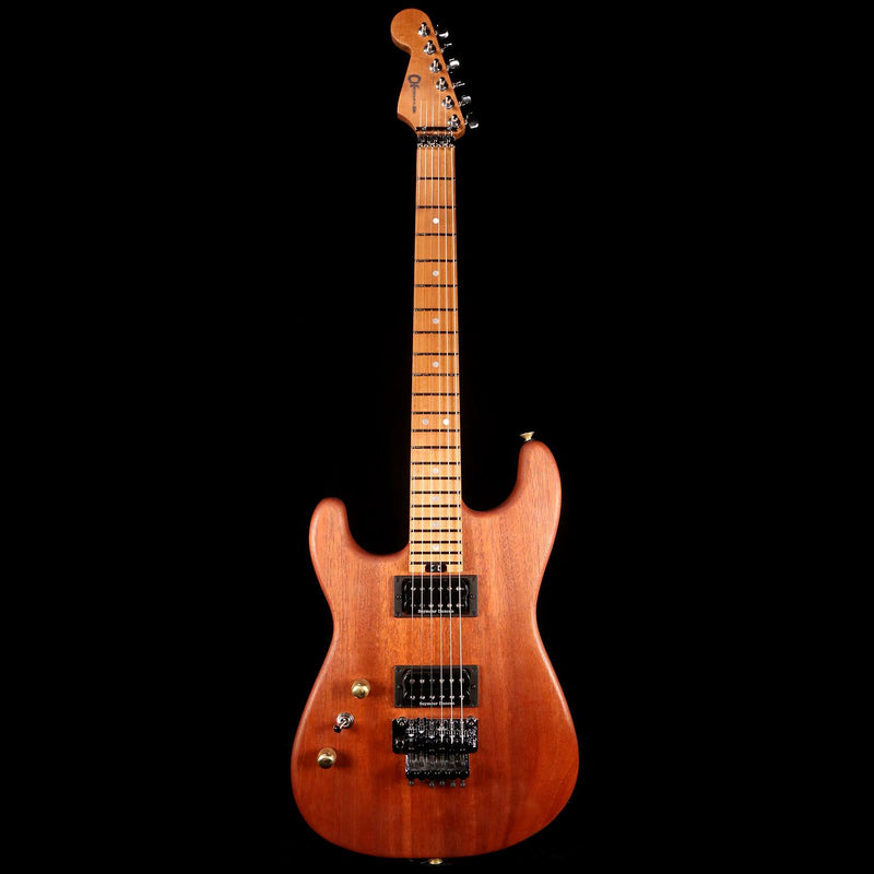 Charvel Custom Shop San Dimas Roasted Mahogany Left-Handed Natural C11477