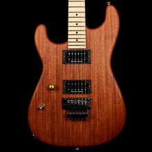 Charvel Custom Shop Cooked Mahogany San Dimas Natural Oil Left-Handed
