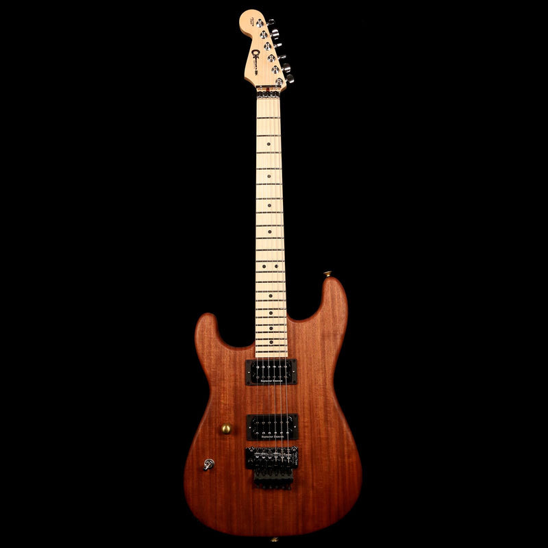 Charvel Custom Shop Cooked Mahogany San Dimas Natural Oil Left-Handed C11761