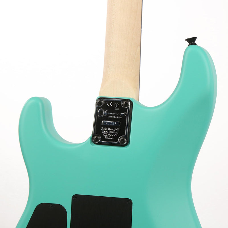 Charvel Custom Shop FU-Tone Loaded San Dimas Satin Frost Seafoam Green Music Zoo Exclusive C11227