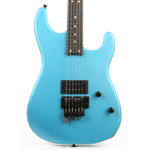 Charvel Custom Shop FU-Tone Loaded San Dimas Satin Frost Blue Music Zoo Exclusive