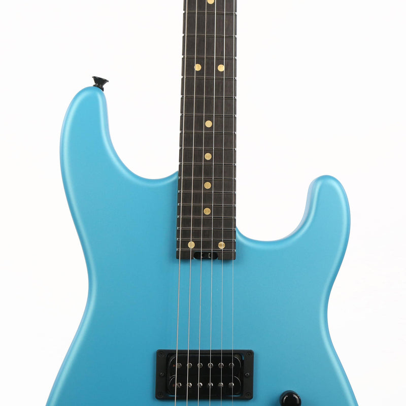 Charvel Custom Shop FU-Tone Loaded San Dimas Satin Frost Blue Music Zoo Exclusive C11337