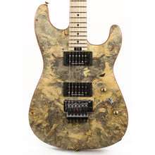 Charvel Custom Shop San Dimas HH Buckeye Burl Top Oil Finish