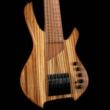 Willcox USA Custom Shop Lightwave Saber 6-String Bass Zebra Wood