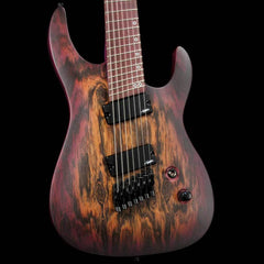 Legator Ninja Performance N7P Fanned Fret Purple Bocote Burst