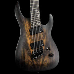 Legator Ninja Performance N7P Fanned Fret Black Bocote Burst