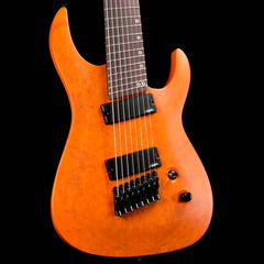 Legator Ninja Performance N8P Fanned Fret Pastel Orange Burl