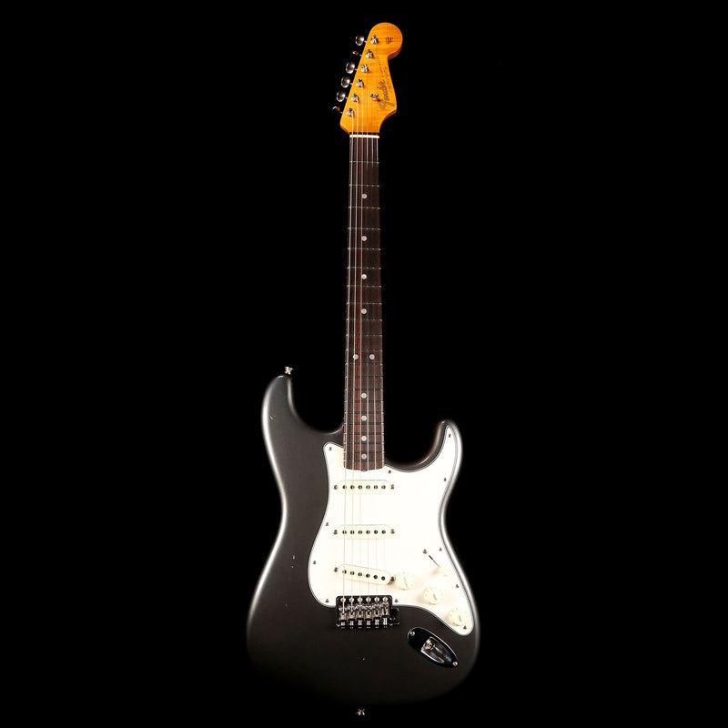 Fender Custom Shop 1965 Stratocaster 2019 Aged Charcoal Frost Metallic CZ539091
