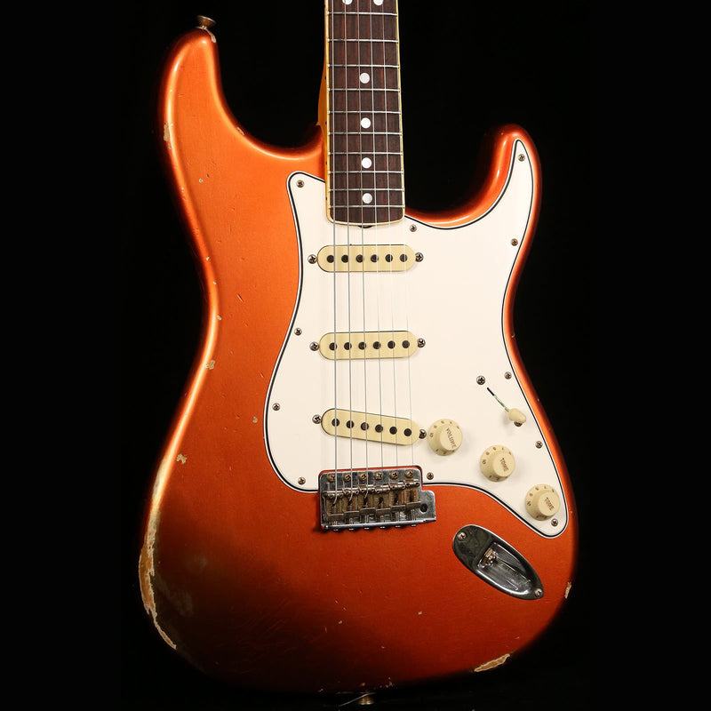 Fender Custom Shop 1967 Stratocaster Relic Super Faded Candy Apple Red CZ543121