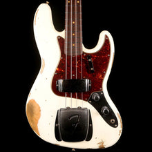 Fender Custom Shop 1961 Jazz Bass 2019 Heavy Relic Aged Olympic White