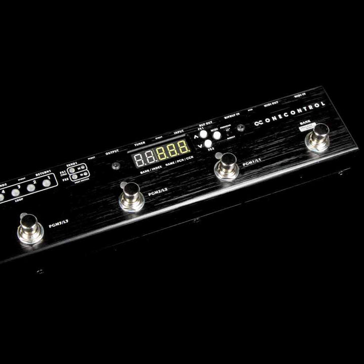 One Control Caiman Tail Loop MIDI Programmable True Bypass Looper CaiMan-tail-looP
